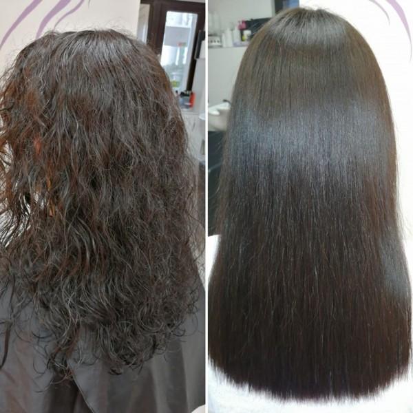 keratin ravnanje kose Slash Hairstyle