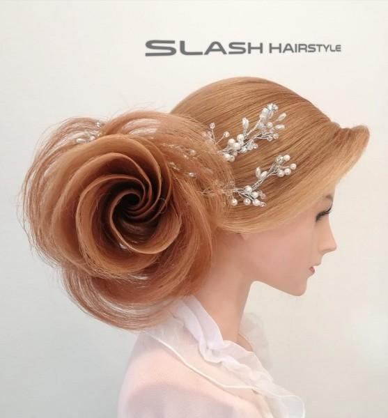 cvijet svečane frizure