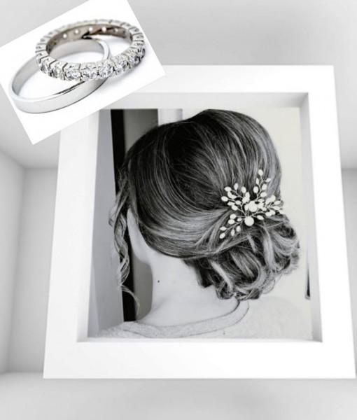 vjenčana svadba vjenčanje svečana frizura