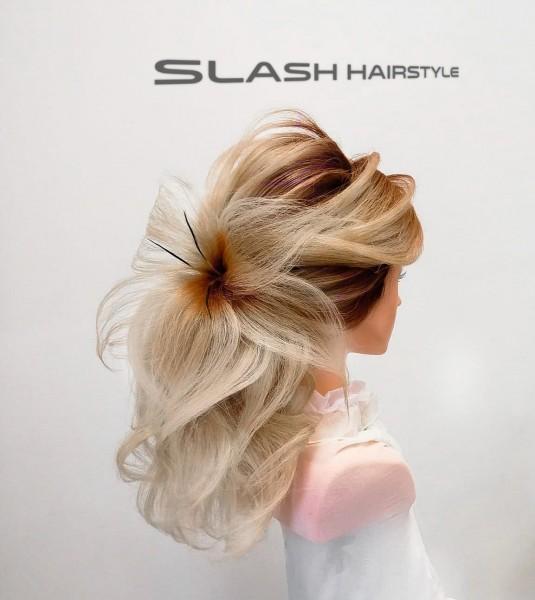 duga kosa svečana frizura vjenčane