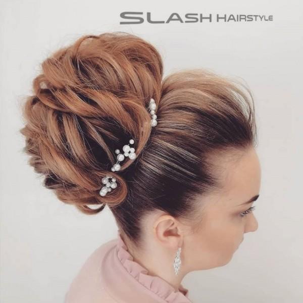 svečane frizure punđa